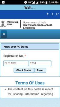 RTO - Vehicle Information screenshot 2