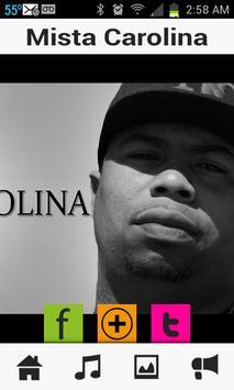 Mista Carolina Artist App apk screenshot