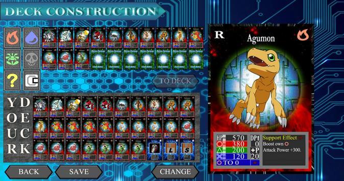 Digital Creature Card Battle screenshot 1