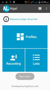 Nigel - Call & SMS filter apk screenshot