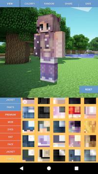 Custom Skin Editor Minecraft screenshot 1