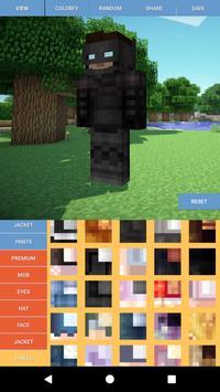 Custom Skin Editor Minecraft screenshot 4