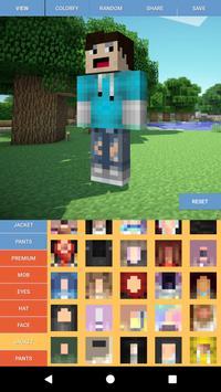 Custom Skin Editor Minecraft screenshot 5