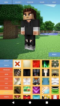 Custom Skin Editor Minecraft screenshot 7