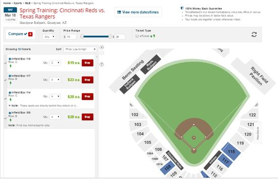 Tickets for MLB Games apk screenshot