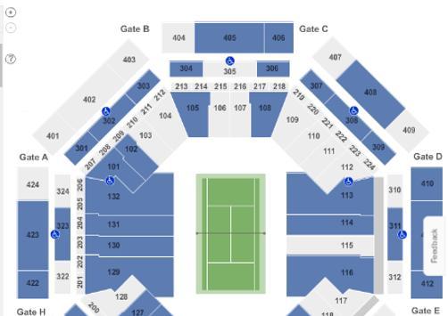 Tennis Tickets App apk screenshot