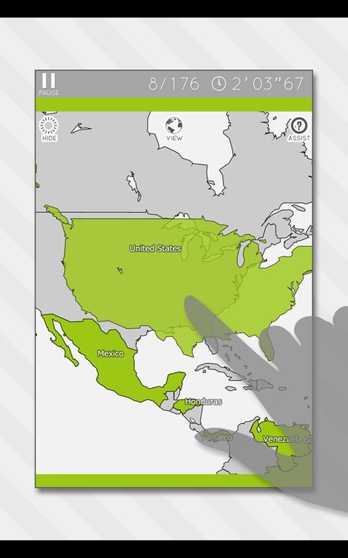 Enjoylearning world map puzzle descarga apk gratis educativos enjoylearning world map puzzle captura de pantalla de la apk gumiabroncs Images