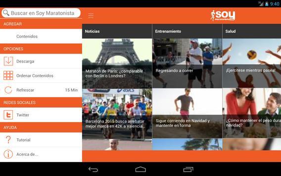 Soy Maratonista screenshot 4