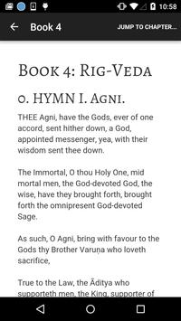 Hindu Vedas - English 🙏 🕉 poster