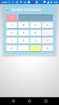 Xpress Calculator poster