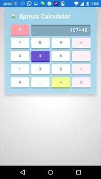 Xpress Calculator apk screenshot