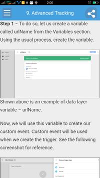 Learn Google Tag Manager apk screenshot