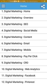 Learn Digital Marketing poster