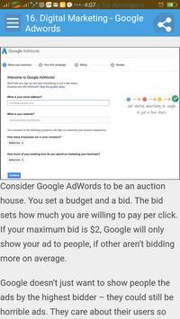 Learn Digital Marketing apk screenshot
