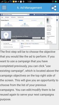 Learn Facebook Marketing screenshot 2