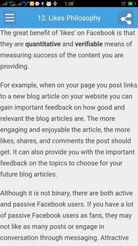 Learn Facebook Marketing screenshot 3