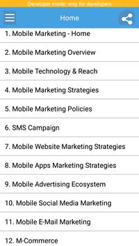 Learn Mobile Marketing poster