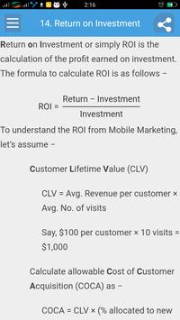 Learn Mobile Marketing screenshot 4