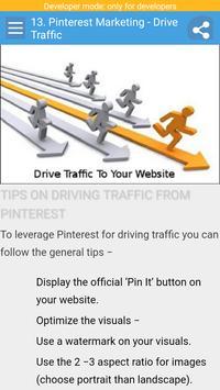 Learn Pinterest Marketing apk screenshot