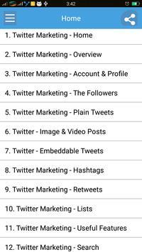 Learn Twitter Marketing poster
