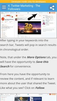 Learn Twitter Marketing screenshot 2