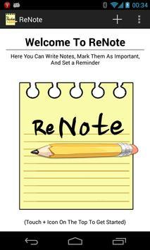 ReNote poster