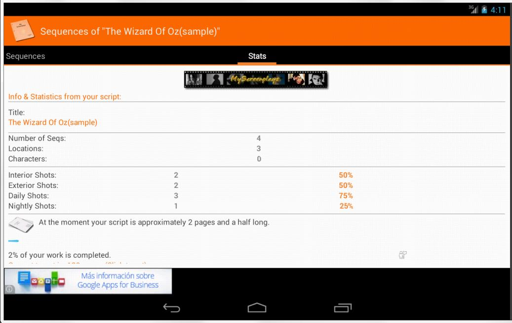 MyScreenplays Free for Android - APK Download