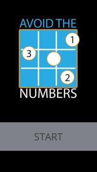 Avoid the Numbers poster