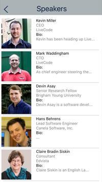 LiveCode Conference 2016 apk screenshot