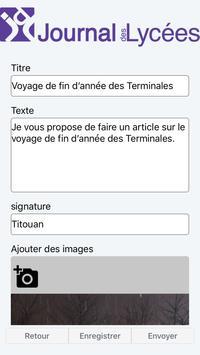 Journal des Lycées screenshot 1