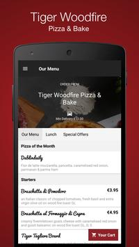 Tiger Woodfire Pizza & Bake screenshot 1
