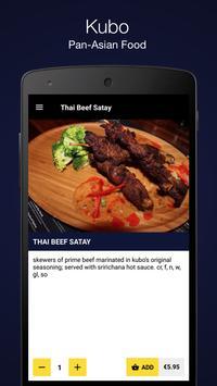 Kubo Pan-Asian Food screenshot 2
