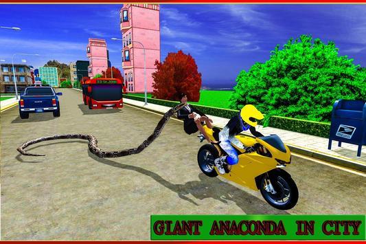 Angry Anaconda Attack Sim 3D poster