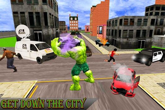 Monster Hero Battle in City screenshot 1