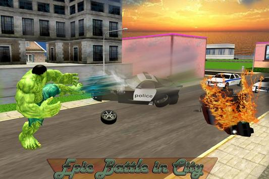 Monster Hero Battle in City screenshot 3