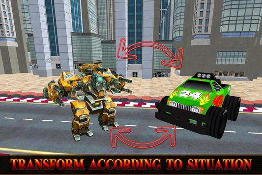 Monster Trucks Robot Transform apk screenshot