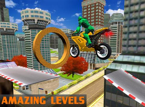 Robot Bike Stunts apk screenshot