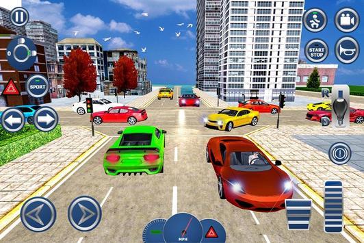 8 Schermata Driving School 3D 2017
