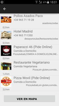 Just Meal Spain apk screenshot