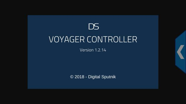 DS Voyager controller poster