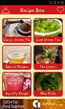 50+ Green Tea Recipes apk screenshot