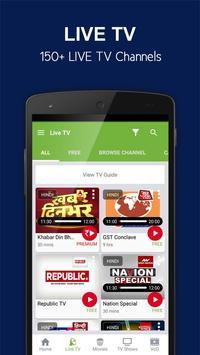 nexGTv Live TV News Cricket apk screenshot