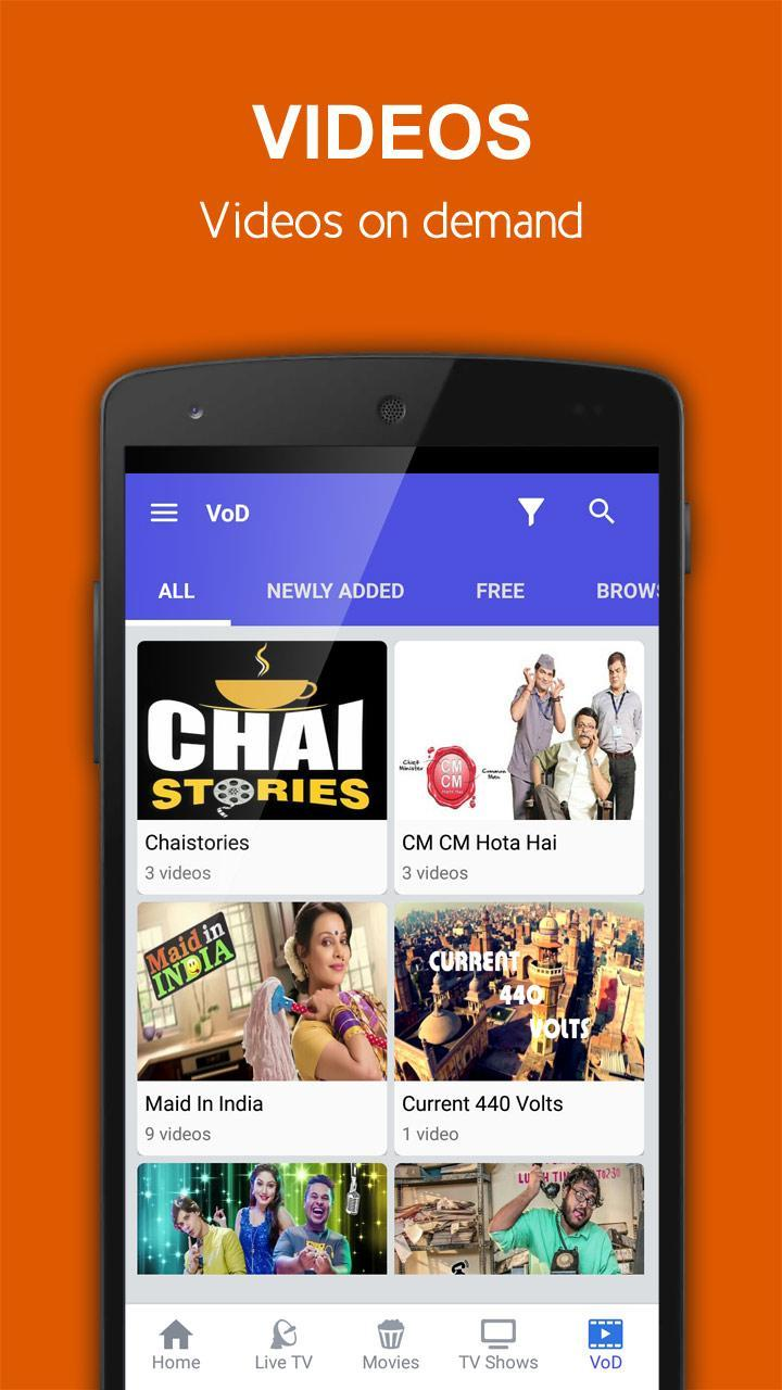 Indian Mobile TV for Android - APK Download