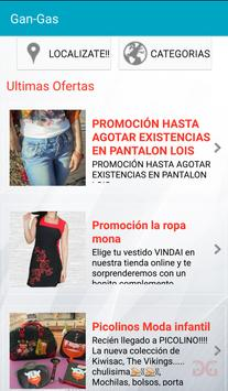 GAN-GAS Ofertas Locales screenshot 2