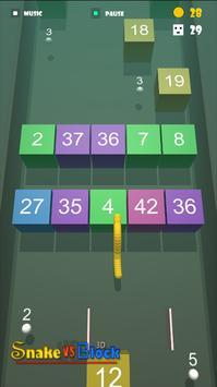 Snake VS Block 3D apk screenshot