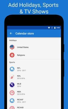 DigiCal Calendar Agenda apk screenshot