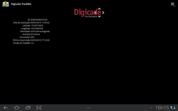 Digicade TrackMe poster
