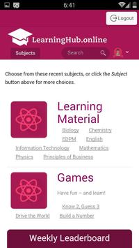 LearningHub screenshot 3