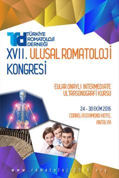 Romatoloji 2016 poster