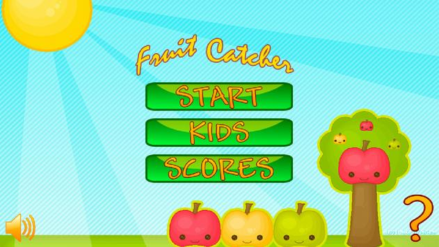 Fruit Catcher Game poster